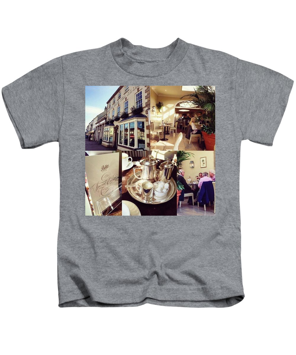 Vintage Kids T-Shirt featuring the photograph After Years And Years, Got To Go To by Michael Comerford