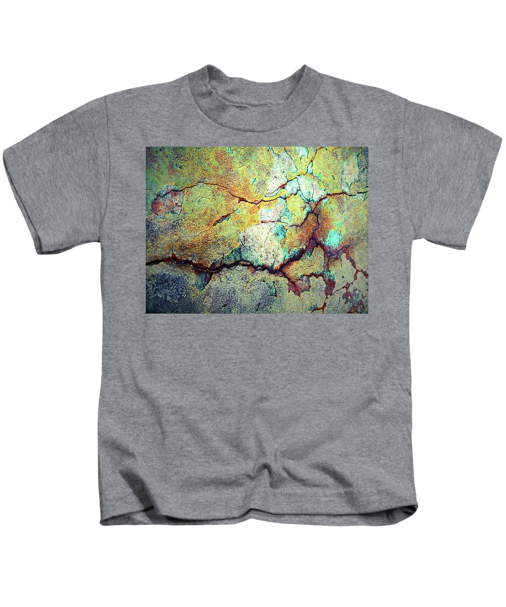 Abstract Kids T-Shirt featuring the photograph Life Lines by Tara Turner
