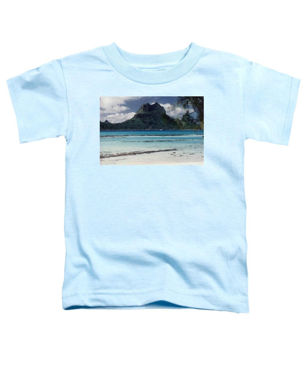 Charity Toddler T-Shirt featuring the photograph Bora Bora by Mary-Lee Sanders