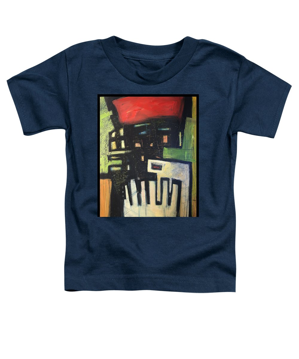 Abstract Toddler T-Shirt featuring the painting D Flat by Tim Nyberg