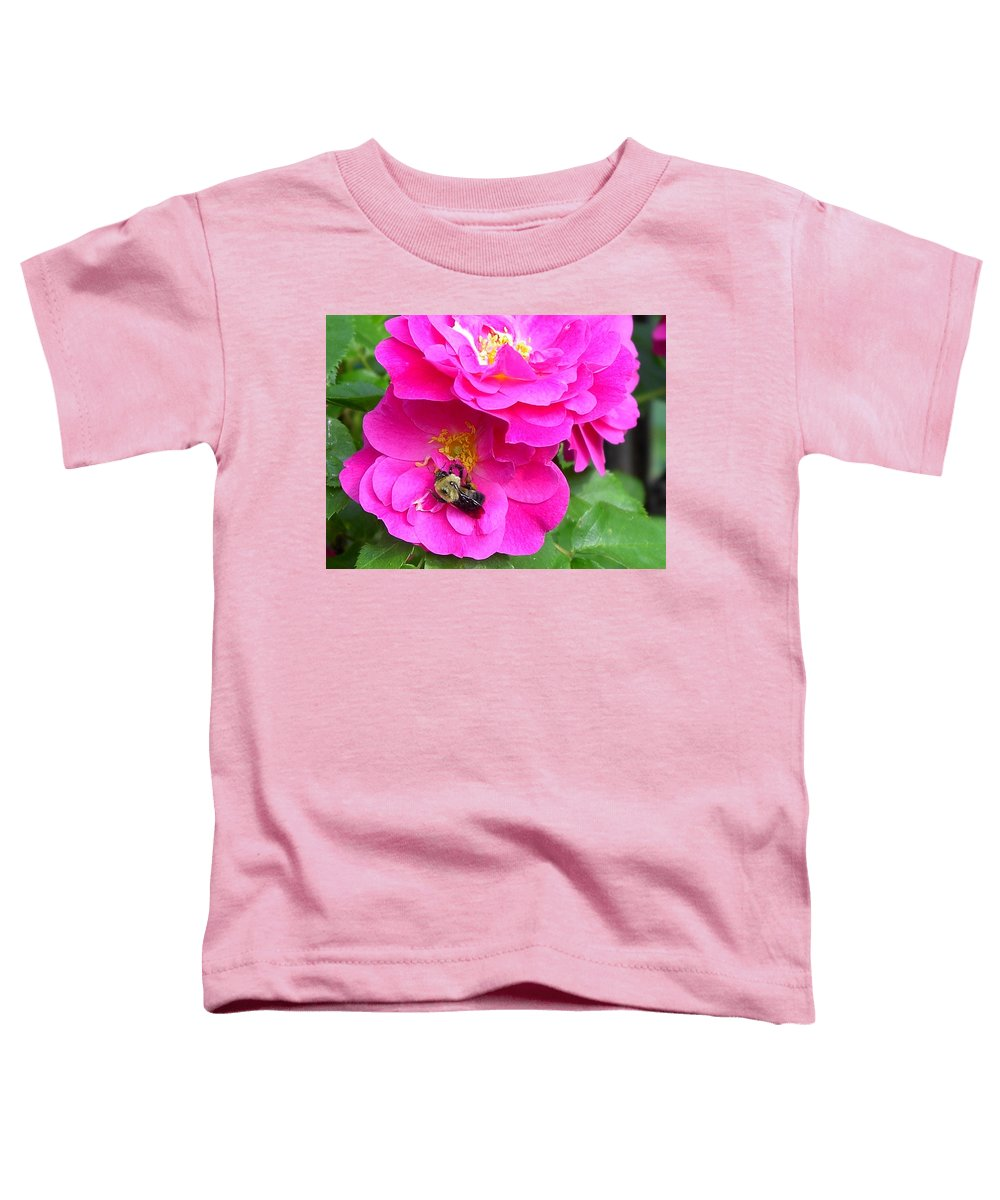 Charity Toddler T-Shirt featuring the photograph Jc And Bee by Mary-Lee Sanders