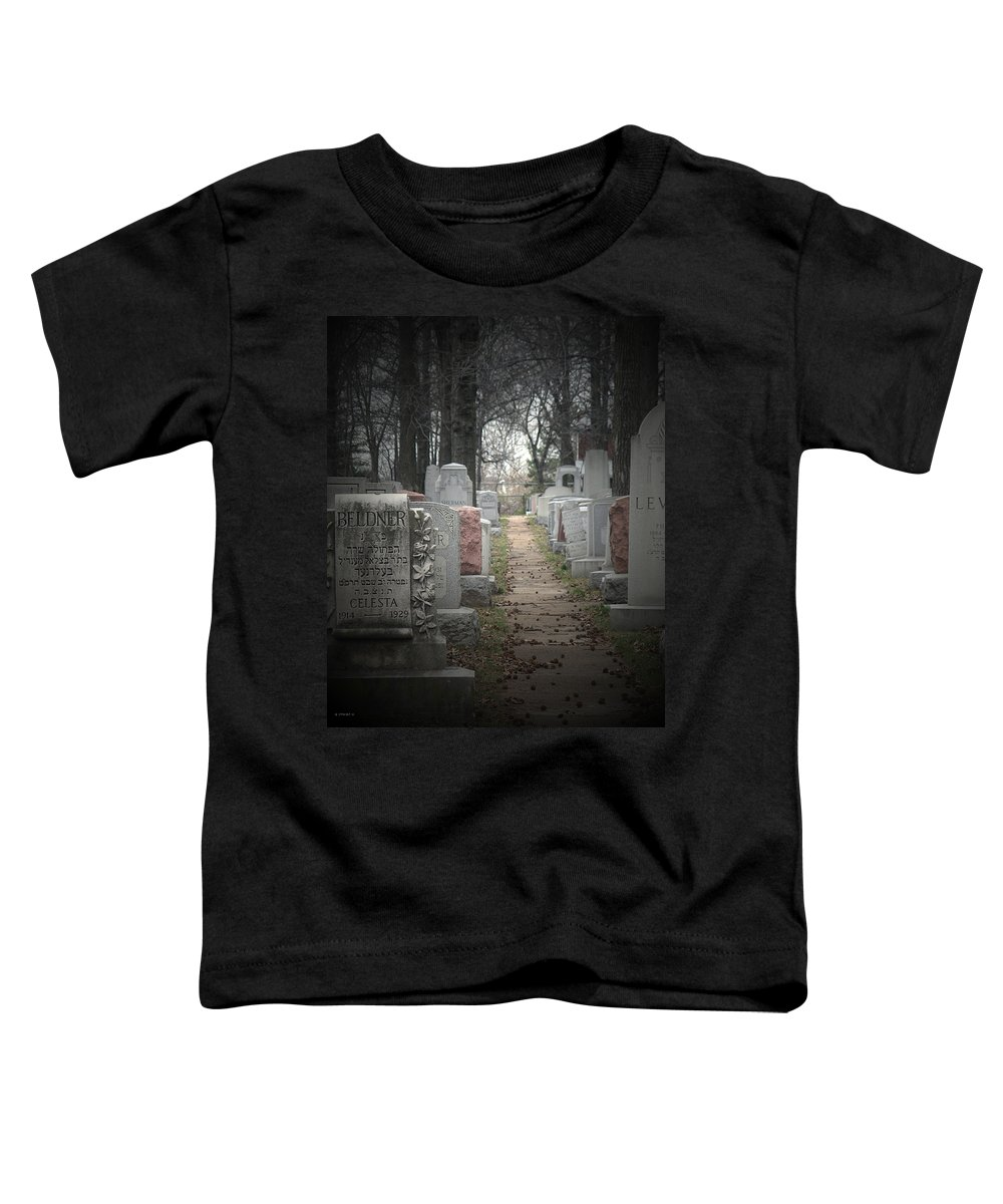 Cemetary Toddler T-Shirt featuring the photograph Closure by Albert Stewart
