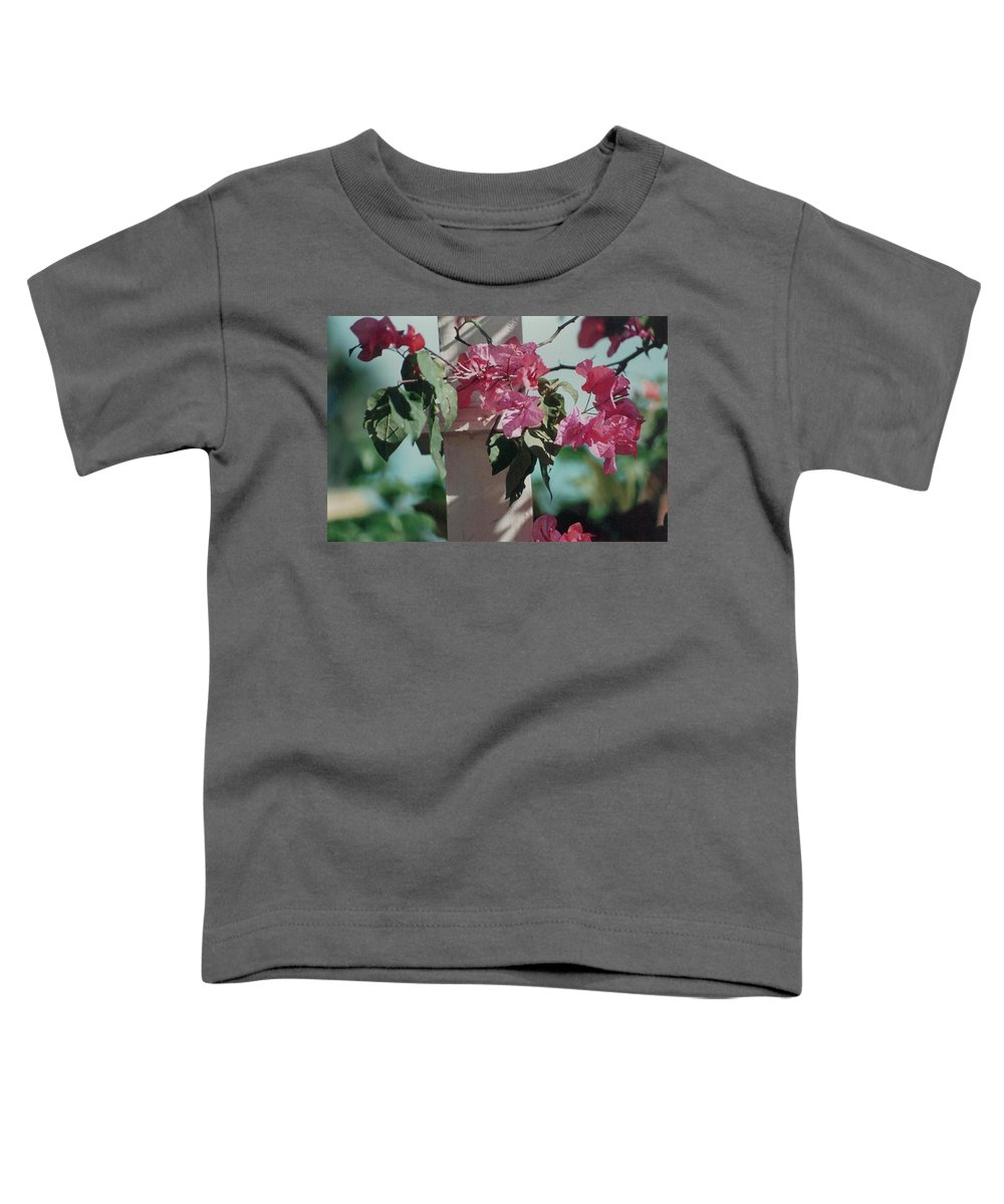 Charity Toddler T-Shirt featuring the photograph Bouganvillea by Mary-Lee Sanders