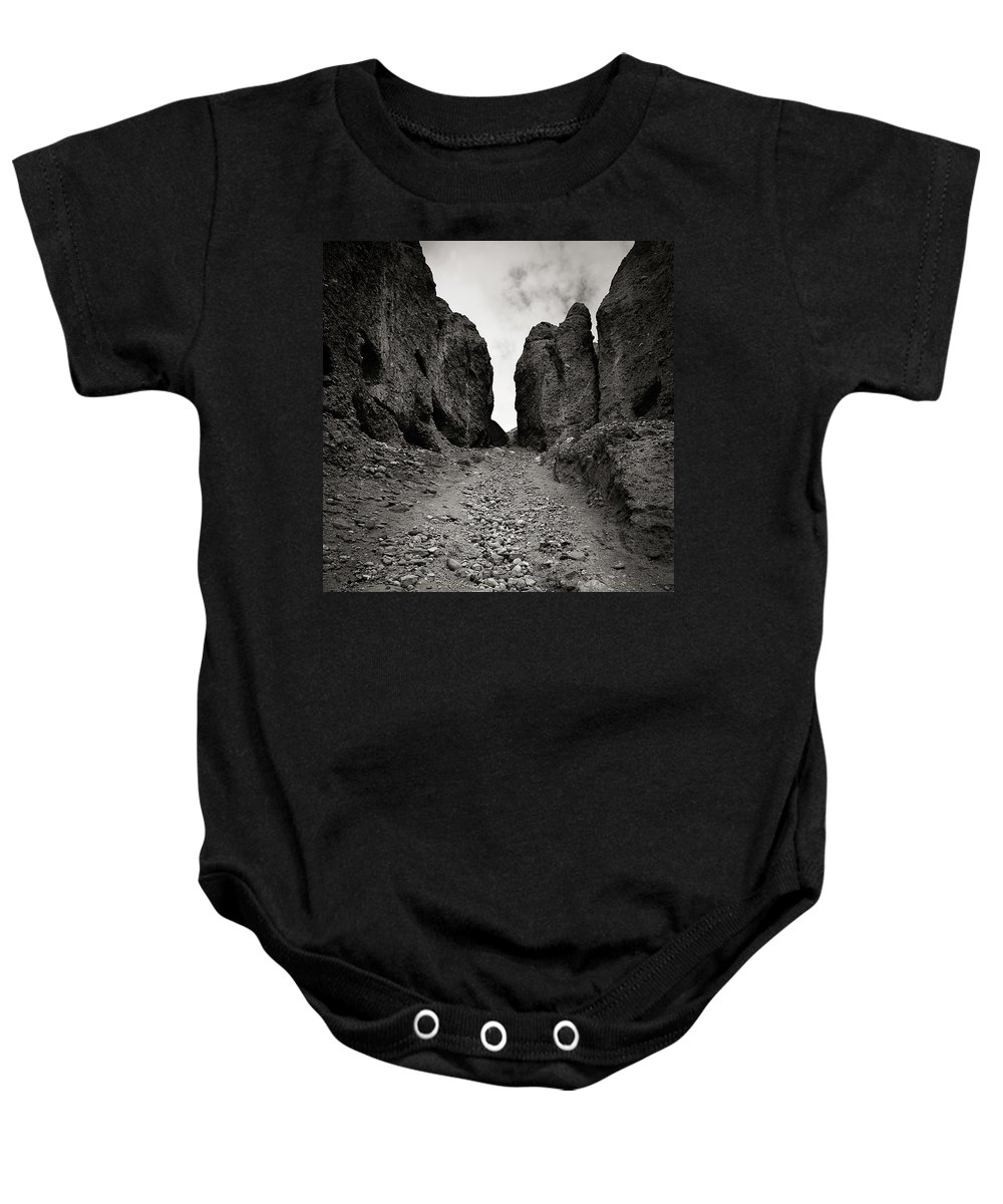 Active Baby Onesie featuring the photograph Buddhist Caves. Vrang by Konstantin Dikovsky