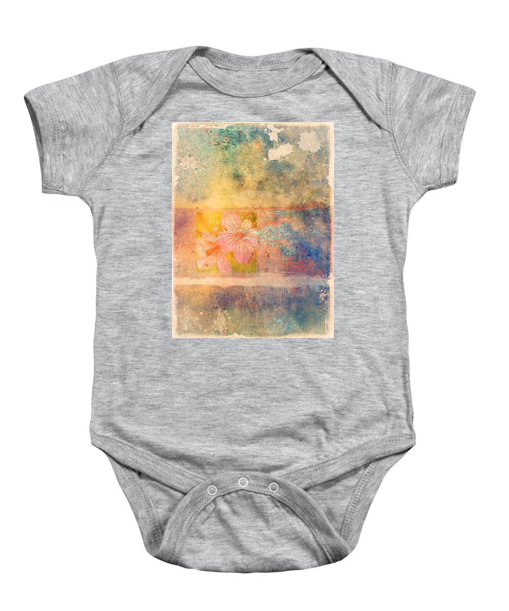 Fowers Baby Onesie featuring the photograph Flowers From My Childhood by Tara Turner