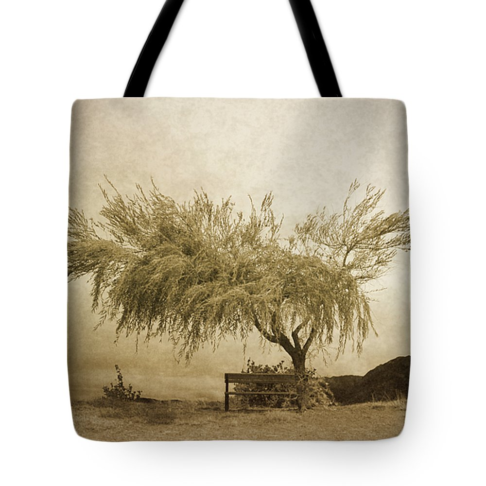 Tree Tote Bag featuring the photograph A Sky The Colour Of Memory by Tara Turner