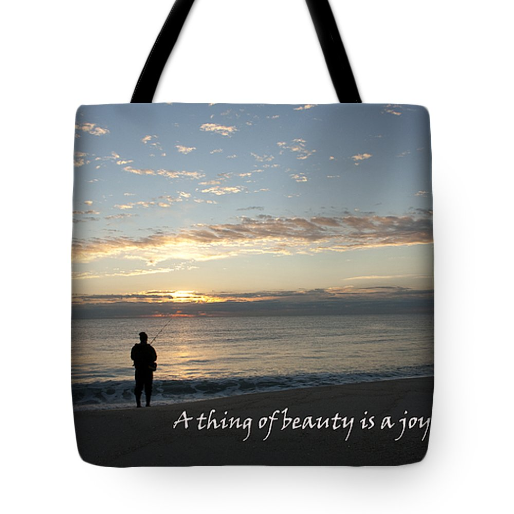 Fisherman Tote Bag featuring the photograph A Thing Of Beauty by Mary Haber