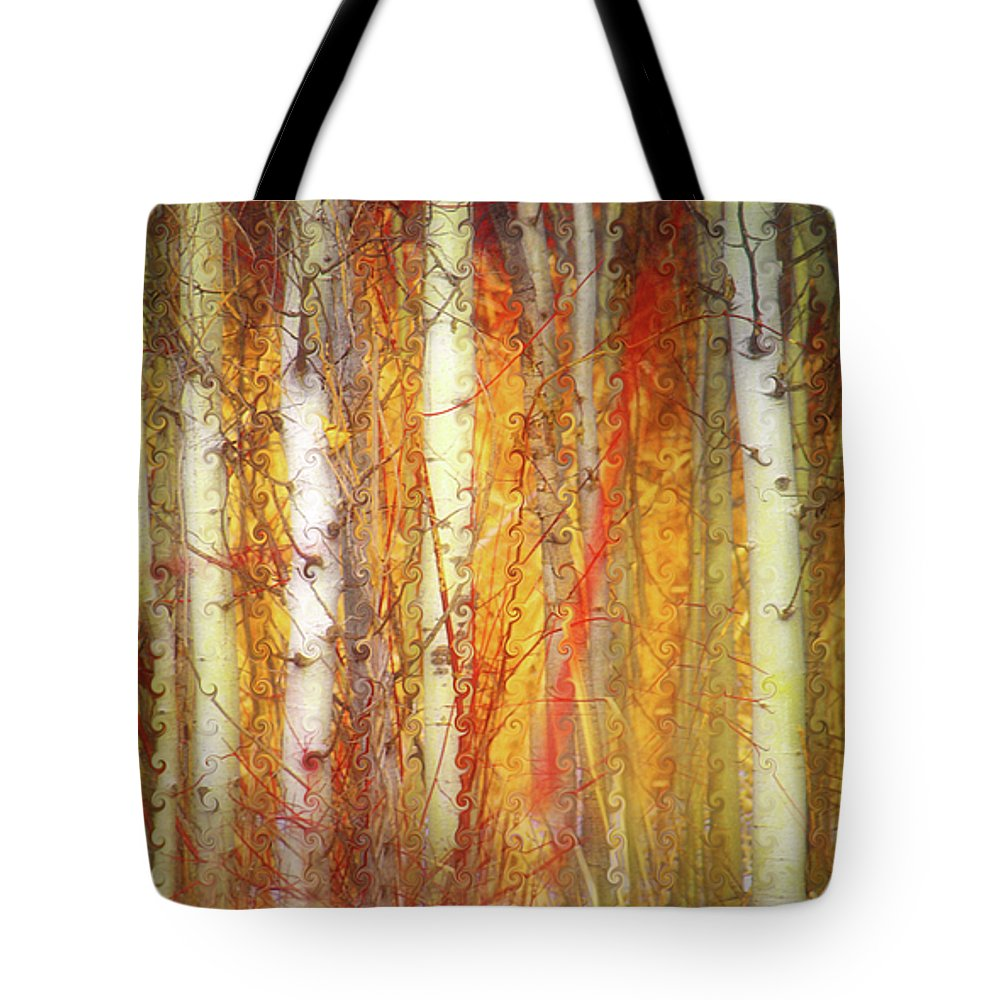 Trees Tote Bag featuring the photograph Strange Forest by Tara Turner