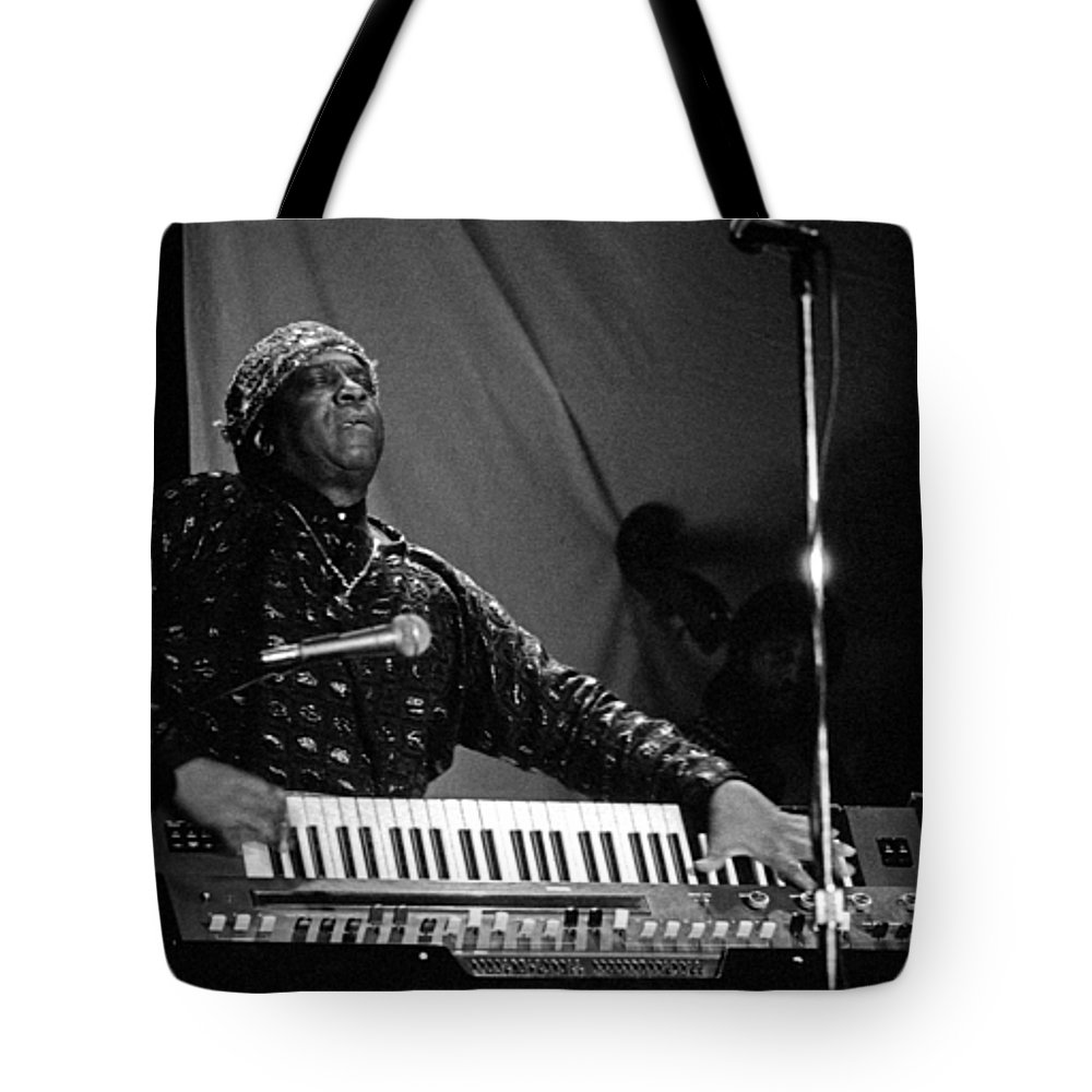 Sun Ra Tote Bag featuring the photograph Sun Ra 1 by Lee Santa