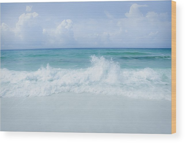 Gulf Wood Print featuring the photograph Gulf Coast by Tiffany Zumbrun