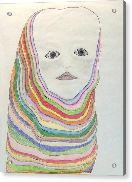 The Masks Acrylic Print