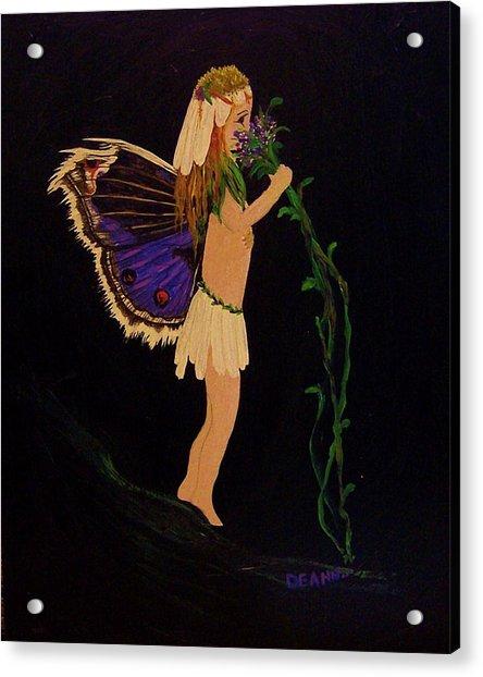 Fairy Girl Acrylic Print
