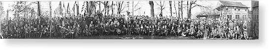 Boy Scouts Canvas Print - Boy Scouts Chevy Chase Md by Fred Schutz Collection