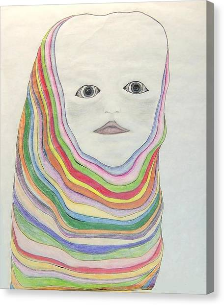 The Masks Canvas Print