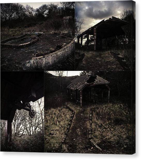 Apocalypse Canvas Print - If You've Ever Wanted To See A Creepy by Michael Comerford