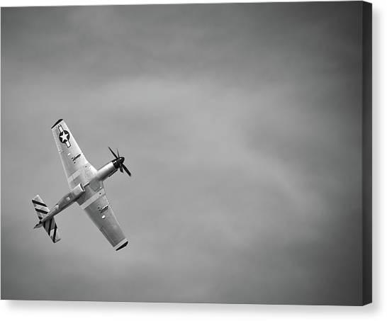 P 51 Mustang Canvas Print