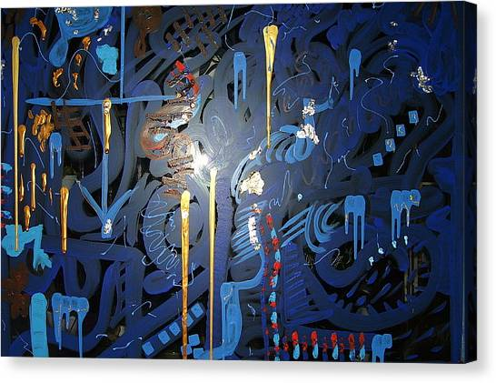 Art Fusing 2 Canvas Print by Svetlana Vinokurtsev