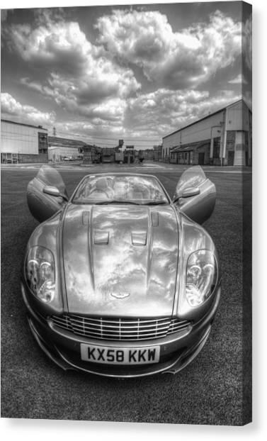 Aston Martin Dbs Canvas Print