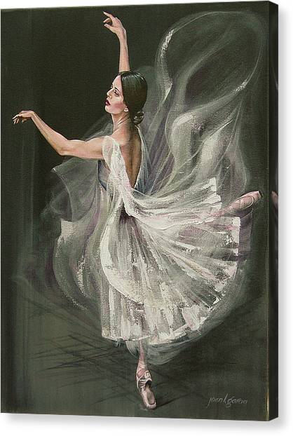 Baile Blanca Canvas Print