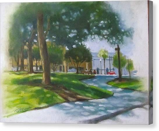 Brick City Ocala Fl Canvas Print