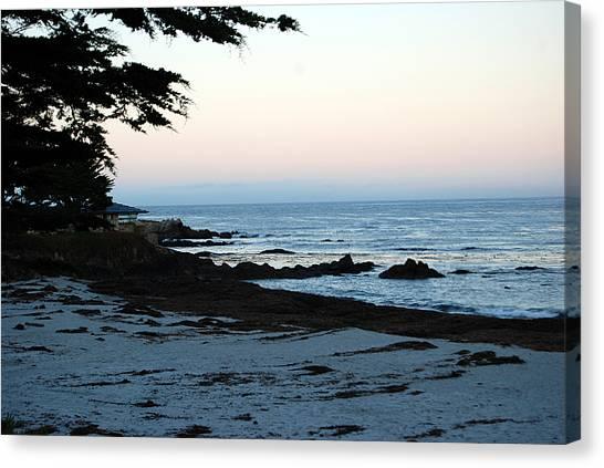 Carmel Beach Awakes Canvas Print
