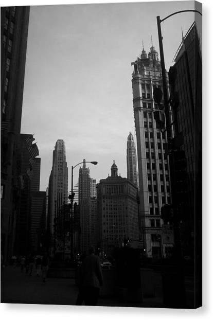 Chicago 4 Canvas Print