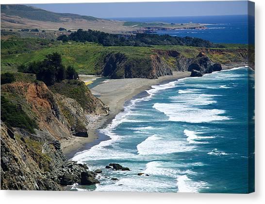 Coast Near Ragged Point Canvas Print