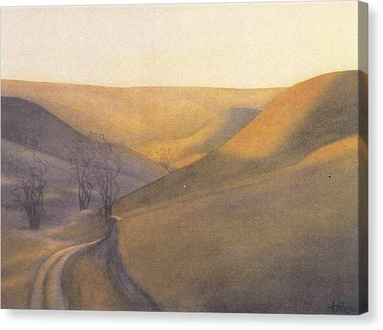 Coulee Sunset Canvas Print