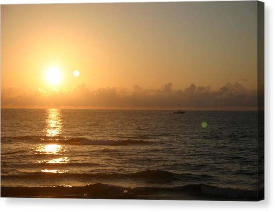 Day Break Canvas Print by Dennis Curry