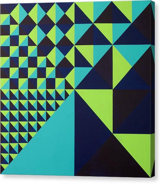 Domino Theory Canvas Print