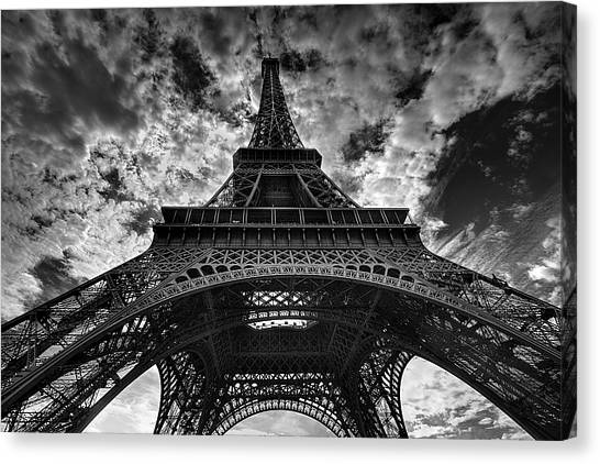 Consumerproduct Canvas Print - Eiffel Tower by Allen Parseghian