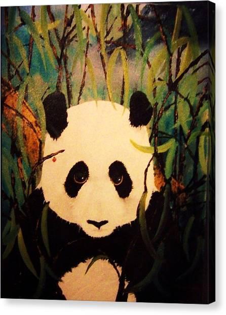 Endangered Panda Canvas Print