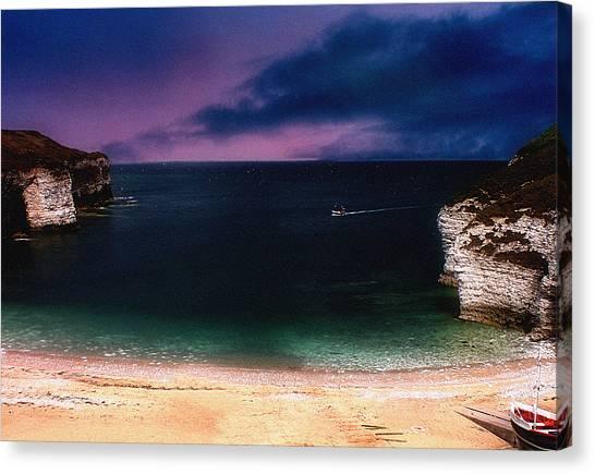 Evening On The Headland  Canvas Print