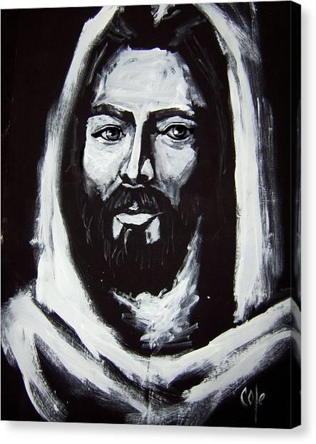Face Of Christ Ccsa Canvas Print