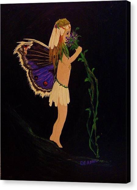 Fairy Girl Canvas Print