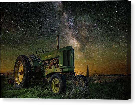 South Dakota Canvas Print - Farming The Rift 3 by Aaron J Groen