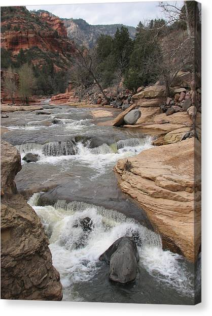 Flow Motion Canvas Print