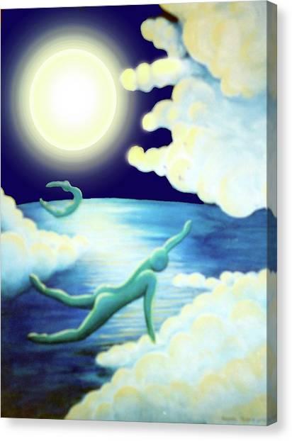Flying Dream 2 Canvas Print by Barbara Stirrup