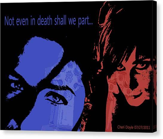 Gothic Love Canvas Print