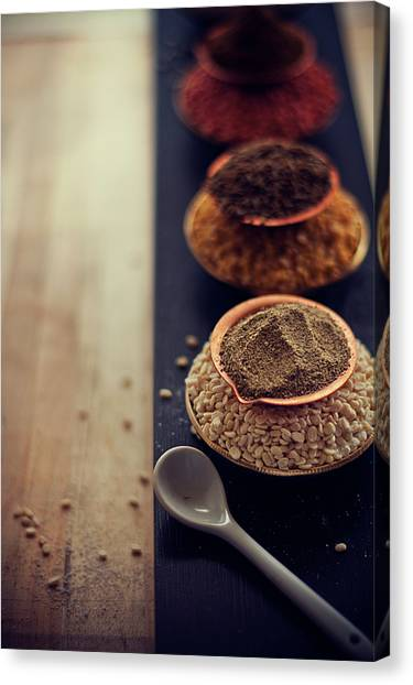 Indoors Canvas Print - Indian Spice by Shovonakar