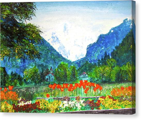 Interlaken Canvas Print