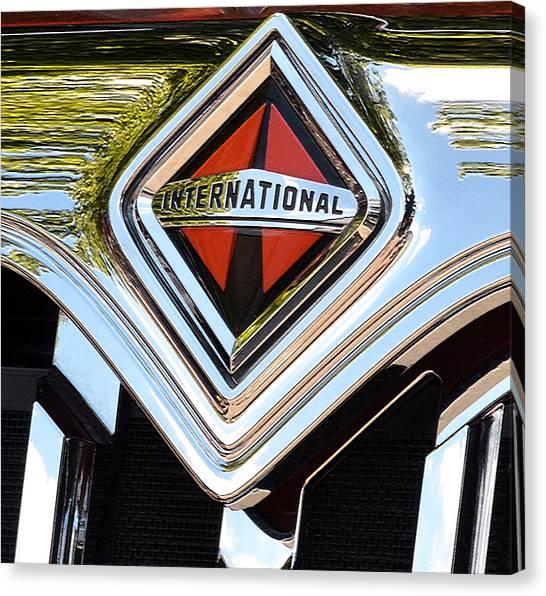 International Truck II Canvas Print