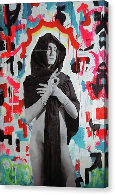 Iris Of My Eye... Canvas Print by Steven W Rand