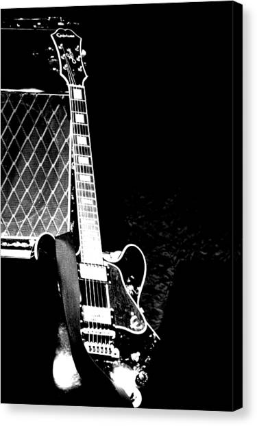 Its All Rock N Roll Canvas Print