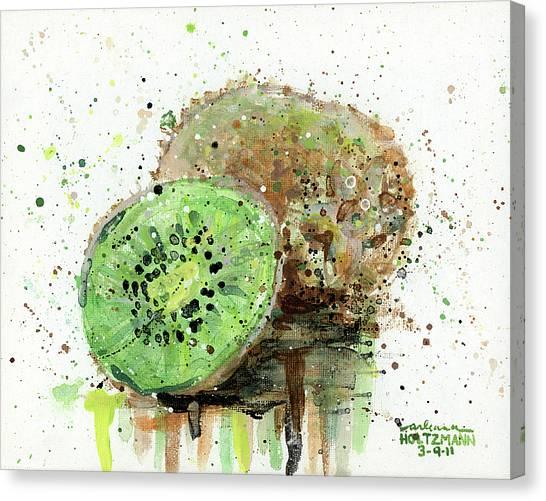 Kiwi 1 Canvas Print
