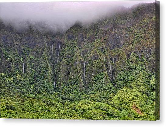 Ko'olau Waterfalls Canvas Print