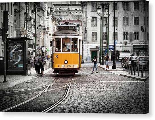 Lisboa Tram II Canvas Print