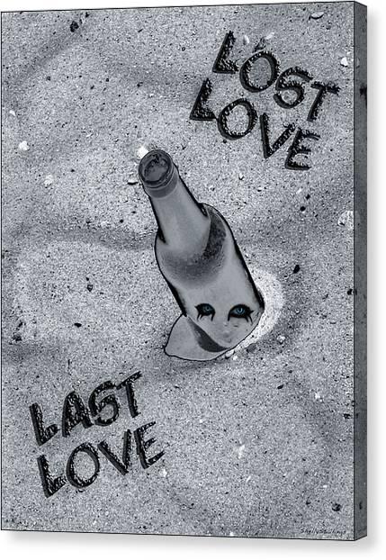 Lost Love Last Love Canvas Print