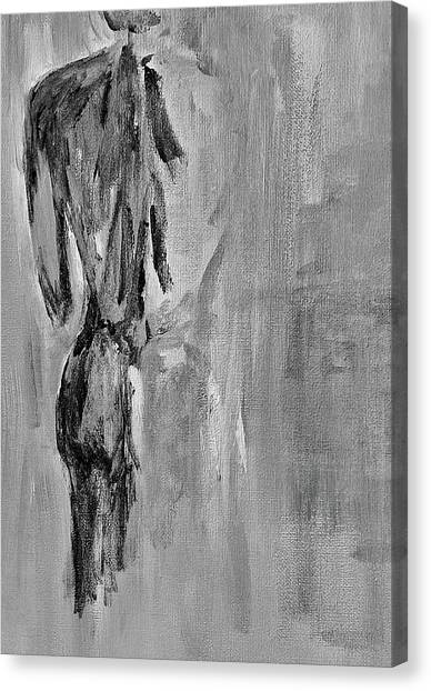 Male Nude 3 Canvas Print