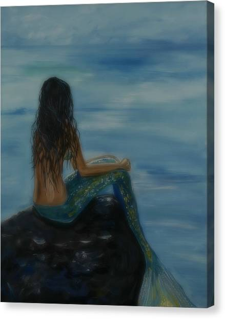 Mermaid Mist Canvas Print